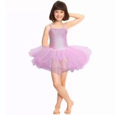 Light Pink Tutu Leotard Girls Dance Deluxe Fancy Dress Ballerina Ballet Costume