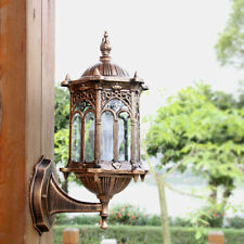 Outdoor Lantern Sconce Porch Lights Lamp Antique Wall Lighting Exterior Fixture