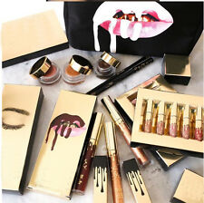 New Beauty 6Pcs Gold Makeup Matte Liquid Lipstick Waterproof Gloss Brithday
