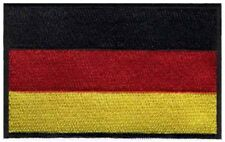2 pcs GERMAN Flag Embroidered Iron on Patches - GERMANY