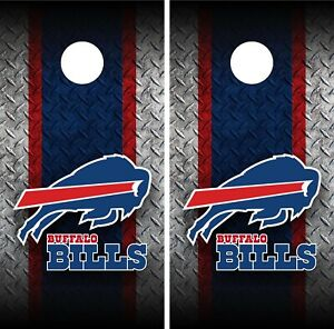 Buffalo Bills Cornhole Wrap Vinyl Skin Board NFL Sports Vinyl Decal WA23