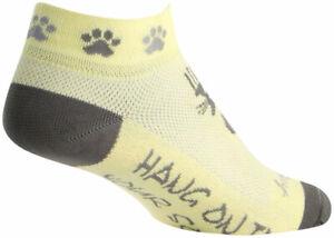 SockGuy Women's Classic Scratch Low Socks | 1 inch | Yellow/Gray | S/M