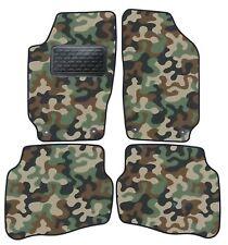 Armee-Tarnungs Autoteppich Autofußmatten für Seat Cordoba / Ibiza 1999-2007