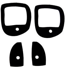 Ford Escort MK 1 - 2 Door Handle Gasket Set - Mexico RS2000 GT 1300E