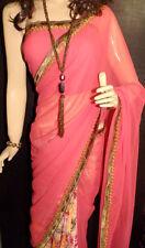 New Style Designer Half-Half Saree with Latest Border Blouse On Discount Price