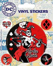 Marvel Comics Harley Quinn Stickerset Sticker Aufkleber 10x12 5cm