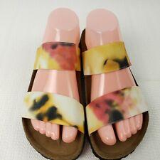Birkenstock Papillio Sandals US 6.5 EUR 37 Narrow Double Strap Leather Lining