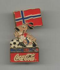 ORIG. pin WM estados unidos 1994 // mascota Striker + WM participantes noruega!!! Top