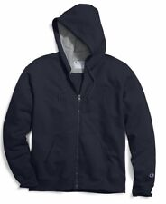 Champion Men's Powerblend Fleece Full-Zip Hoodie XL Navy NWT