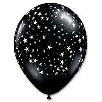 Estrella Estampado Qualatex Globos de látex para Fiesta ( Helio / Aire) -