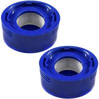 2-Pack Post Motor Hepa Filtro para Dyson sin Cables Adhesivo Aspirador 96747801