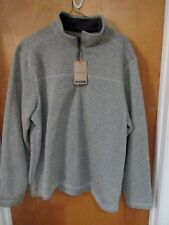 G.H. Bass and Co 1/4 Zip Sweater Fleece Mens Size XL