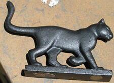 Franklin Mint Curio Cat Collection Black Cat Bootscraper 1986