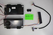 HISENSE 50K23DG Small Parts Repair Kit SPEAKERS;LVDS CABLE;IR SENSOR;CONTROLS