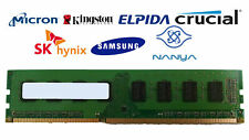 Lot of 100 2GB DDR3-1333 PC3-10600U 2Rx8 DDR3 SDRAM Desktop Memory