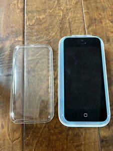 APPLE IPHONE 5C - BLUE / ME568LL/A - 16GB - BOX + INSERTS - WORKS