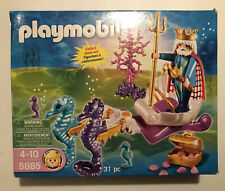 Playmobil Magic Castle Playset - 5885 Neptune and Seahorses.