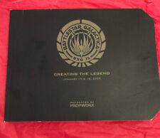 Battlestar Galatica Creating the Legend Book by PropWorx