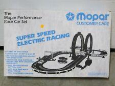 MOPAR SUPER SPEED RACING - LOOP SHOOT 1992 SLOT CAR SET, FACTORY SEALED