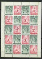s33096 JAPAN 1964 MNH Sport  Mini Sheet FOLDED