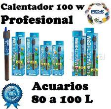 ACUARIO CALENTADOR SUMERGIBLE 100 W CON TERMOSTATO.