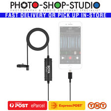 BOYA BY-DM1 Lavalier Microphone for iPhone iPad (Lightning Plug, 6m)*Aus stock*