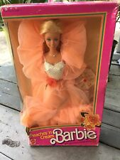 Brand New, MATTEL, BARBIE, Peaches 'n Cream, Gorgeous, VINTAGE DOLL, 1984 Doll