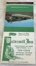 Matchbook Cover Watermill Inn Smithtown NY