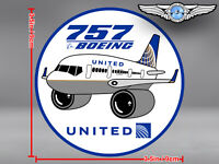 UNITED AIRLINES UAL PUDGY BOEING B757 B 757 DECAL / STICKER