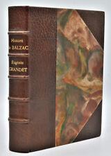 Honoré de Balzac : EUGENIE GRANDET, illustré par Auguste Leroux - 1911- Kieffer