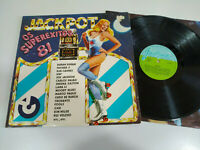"Jackpot OS Superexitos 81 Duran Ficher Z Fools - LP vinyl 12 "" VG/VG 3T"