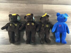 Bamm Beanos Bears Lot Of 4 Babe Ruth Mark McGwire Sammy Sosa Roger Clemens