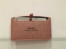 Marc Jacobs Daisy Rose Gold Glitter Case & Mirror