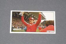 GUM CARD BARRATT BASSETT FOOTBALL 1985-1986 #18 BRUCE GROBBELAAR LIVERPOOL REDS