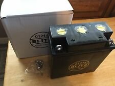 VINTAGE BMW BLITZ R26+R27 11 AH 6 VOLT BATTERY, MUST BE FILLED BY PURCHASER