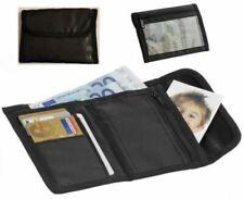 Geldbörse Brieftasche Portemonnaie Emoticons Herren Damen Klettverschluß Stoff
