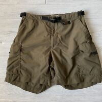 Rei nylon cargo outdoor brown upf 50 Shorts Womens Size 10