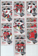 Martin Brodeur  New Jersey Devils  12-Card  09/10 Upper Deck Hockey Heroes Lot