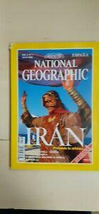 REVISTA National Geographic IRAN EN ESPAÑOL  JULIO  1999