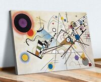 Wassily Kandinsky Composition VIII CANVAS WALL ART PRINT ABSTRACT PAINTING