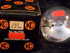 """NOS KC HILITES 2322 REPLACEMENT BULB 150 WATTS 4 3/8"""" OD"""