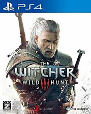 Used THE WITCHER III WILD HUNT SONY PS4 PLAYSTATION JAPANESE IMPORT JAPANZON