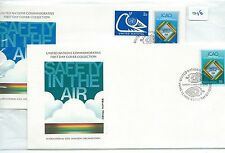 wbc. - UNITED NATIONS - FIRST DAY COVERS - FDC -016- 1978 - CIVIL AVIATION