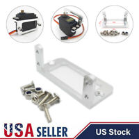 RC Boat Steering Servo Mount Stand Holder Bracket Fit for Futaba S3003 MG995 USA