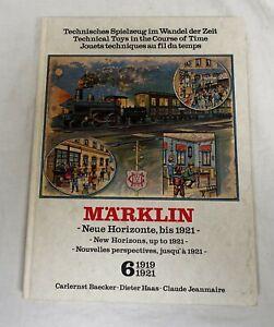 Märklin Buch Neue Horizonte bis 1921 Band 6 gebraucht gut