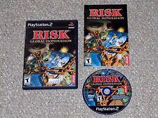 Risk: Global Domination PlayStation 2 PS2 Complete