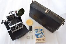 Polaroid Automatic 250 Land Camera + 581A + Model 268 + Mallette + accessoires