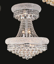 World Capital Limited Edition 14 Light Crystal Chandeliers Ceiling light Chrome