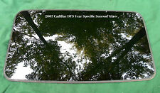 2007 CADILLAC DTS YEAR SPECIFIC SUNROOF GLASS OEM  FACTORY FREE SHIPPING!