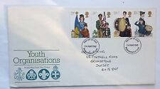 GREAT BRITAIN FIRST DAY COVER YOUTH ORGANISATIONS 1982 A ROYAL MAIL COVER